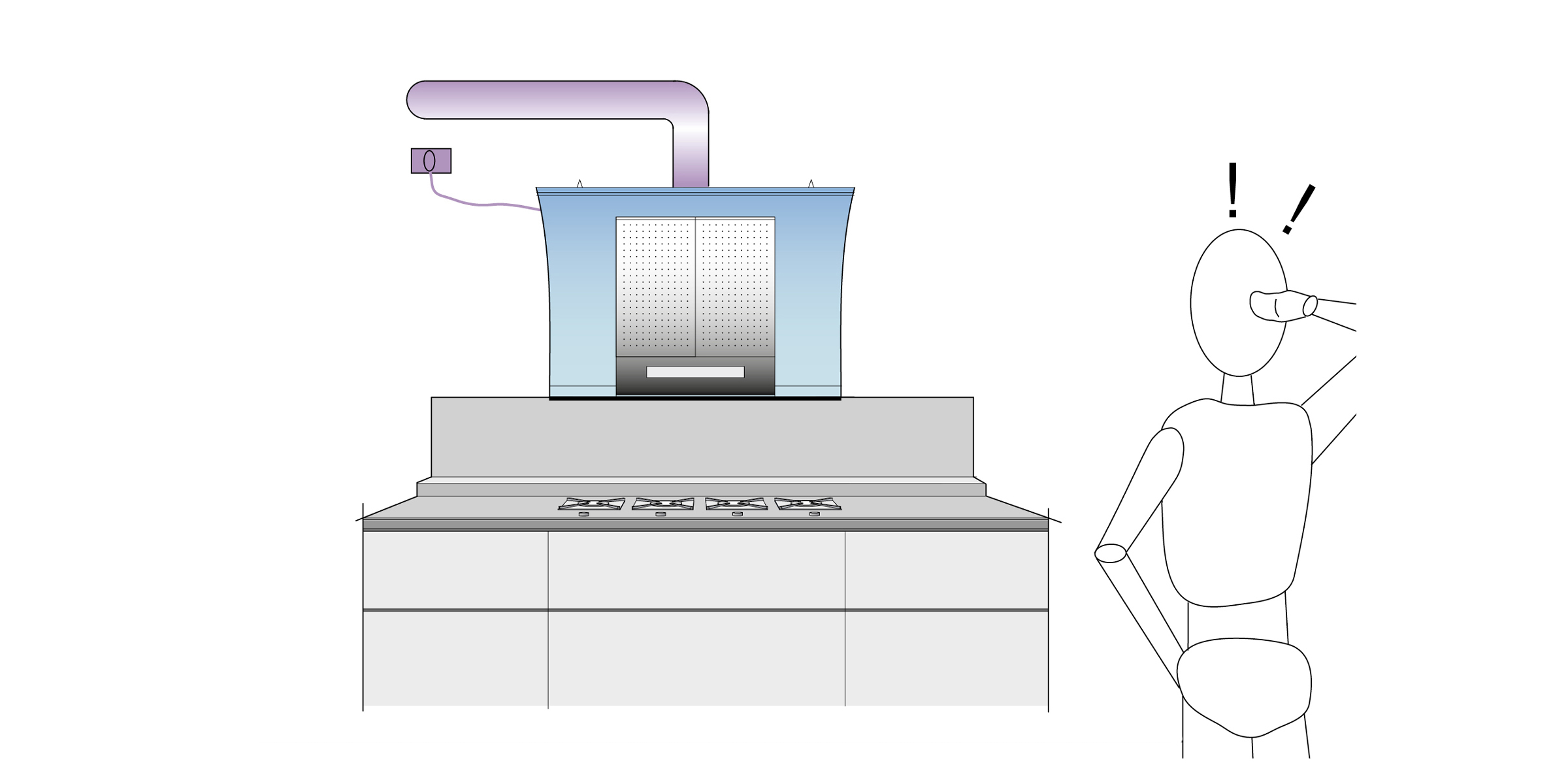 Tubo cappa cucina progettazione valcucine - Costruire cappa cucina ...