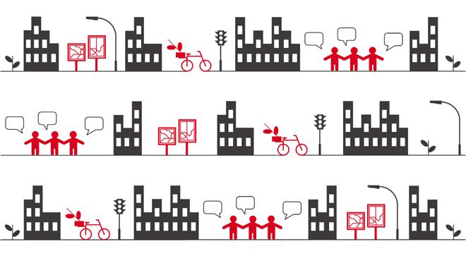 La città che cambia