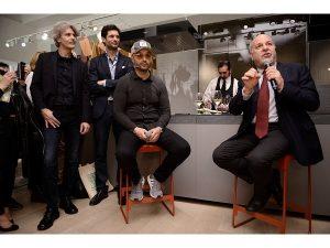 Giuseppe Di Nuccio; Joe Bastianich; Alan Friedman