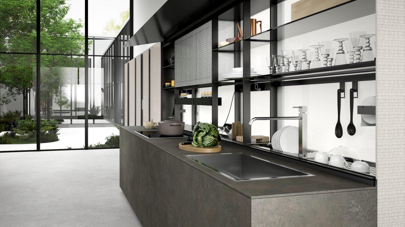 Personalizza la tua cucina su www.machina-valcucine.com