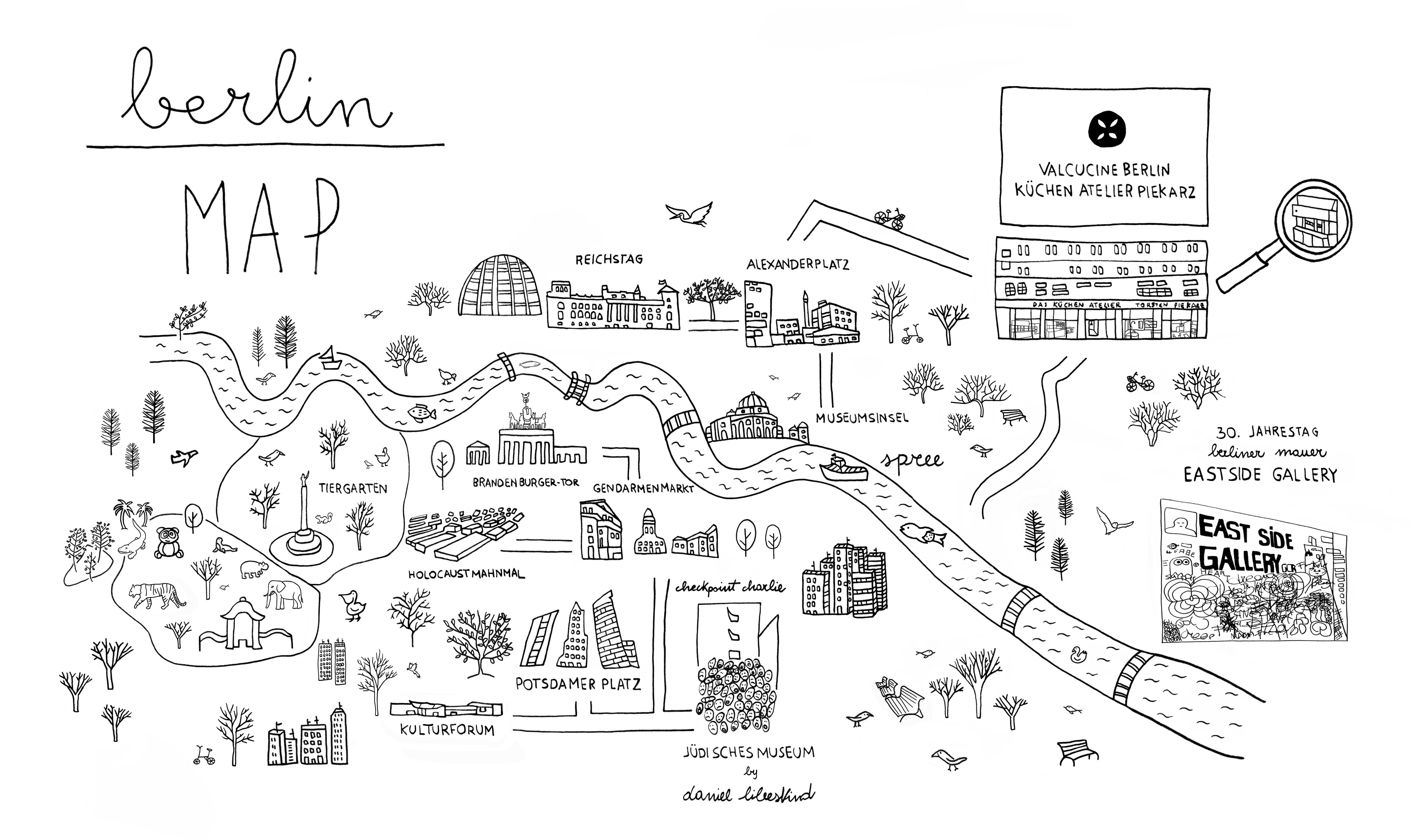 VALCUCINE BERLIN MAP