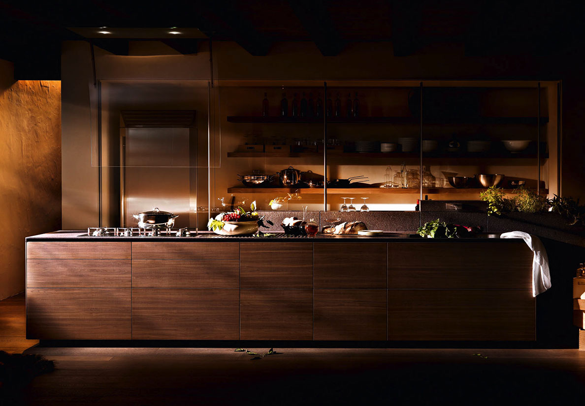 Cucine in legno valcucine