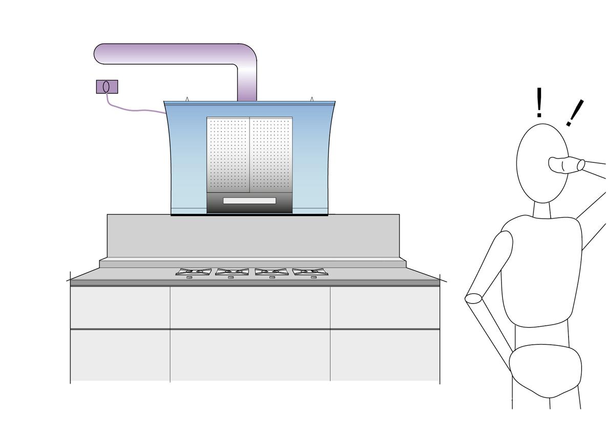 Ventilazione cucina progettazione valcucine - Ventilazione cucina ...
