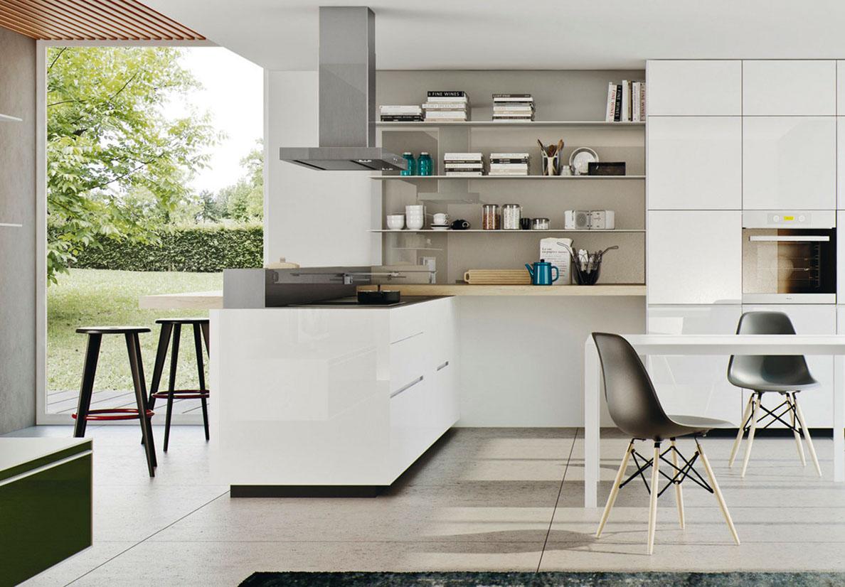 Cucine componibili configurazione cucine valcucine - Elementi per cucine componibili ...